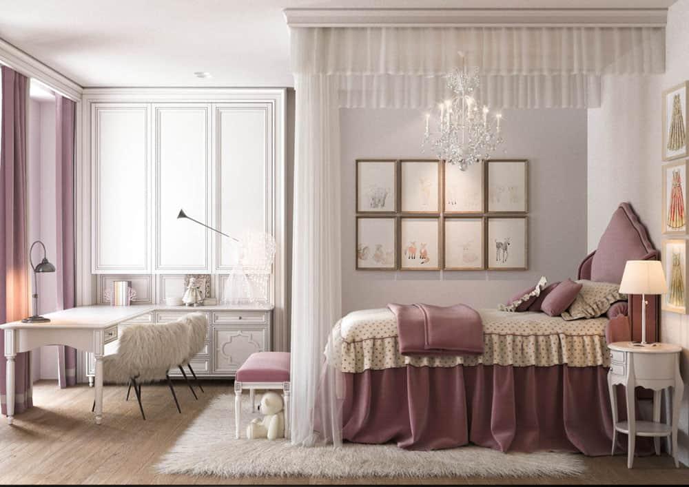 Phòng ngủ cho bé đầy ngộ nghĩnh và tiện nghi