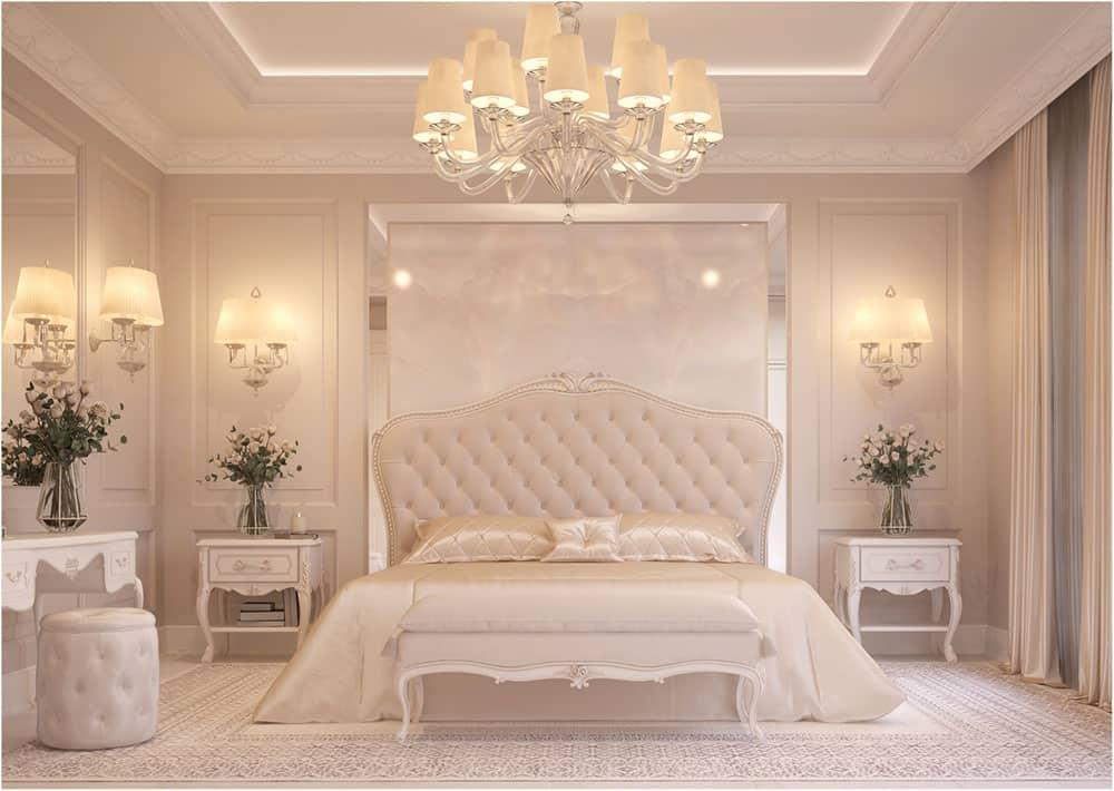 Thiết kế phòng ngủ sang trọng và quý phái