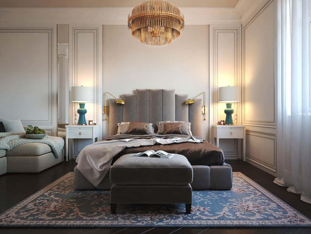 Sự tinh tế và lịch lãm của phòng ngủ chung cư nhỏ