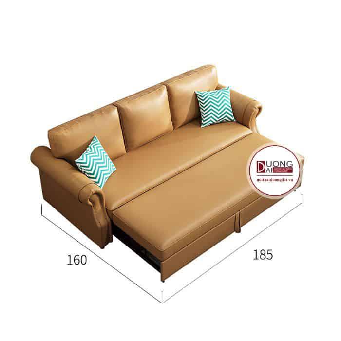 Sofa giường bọc da - ATFGD611