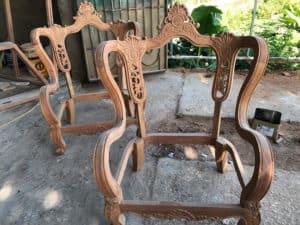 Các loại gỗ quý hiếm để sản xuất nội thất