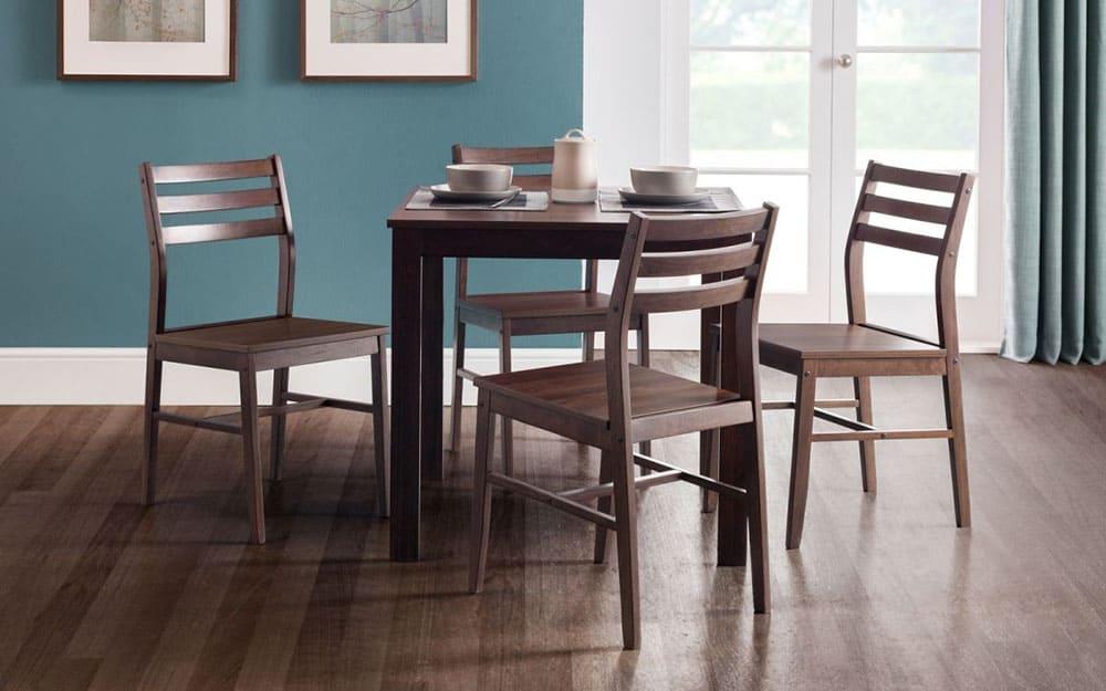 Bàn ghế ăn trang nhã cho phòng ăn nhỏ