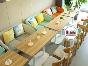 Ghế sofa cho quán trà sữa - ATFCF202