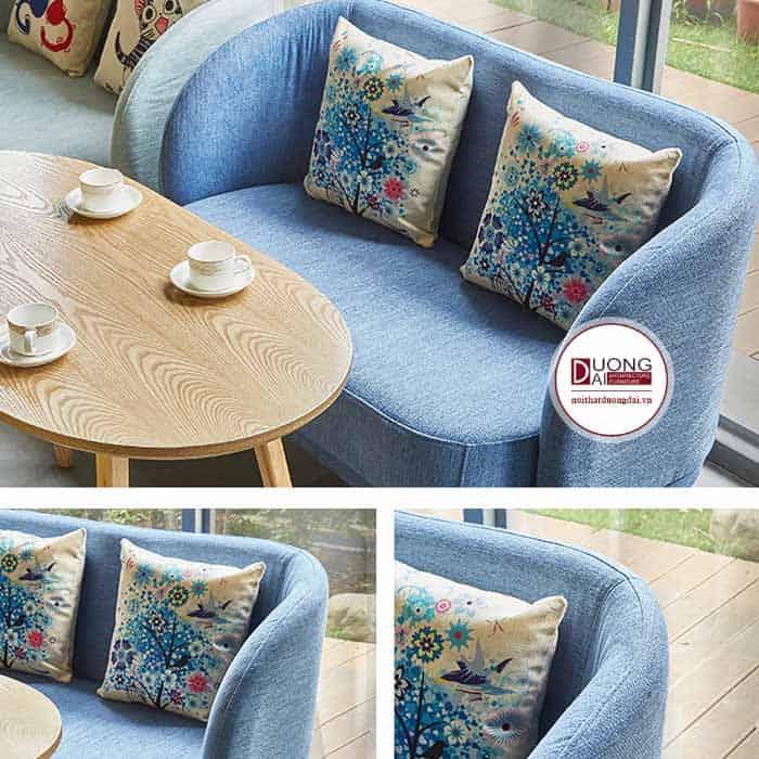 Ghế sofa quán trà sữa - ATFCF203