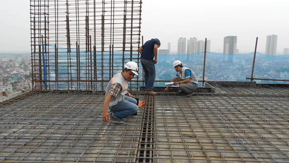 Công tác chuẩn bị và tiến hành thi công bê tông cốt thép