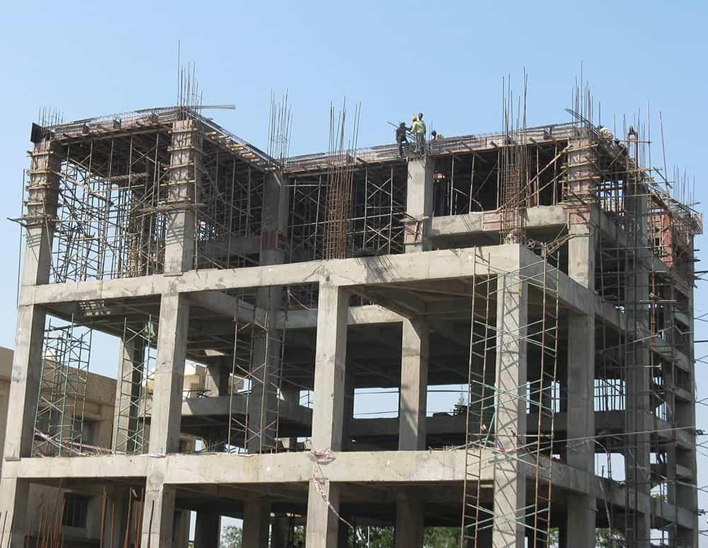 Công trình thi công đảm bảo kỹ thuật và kết cấu