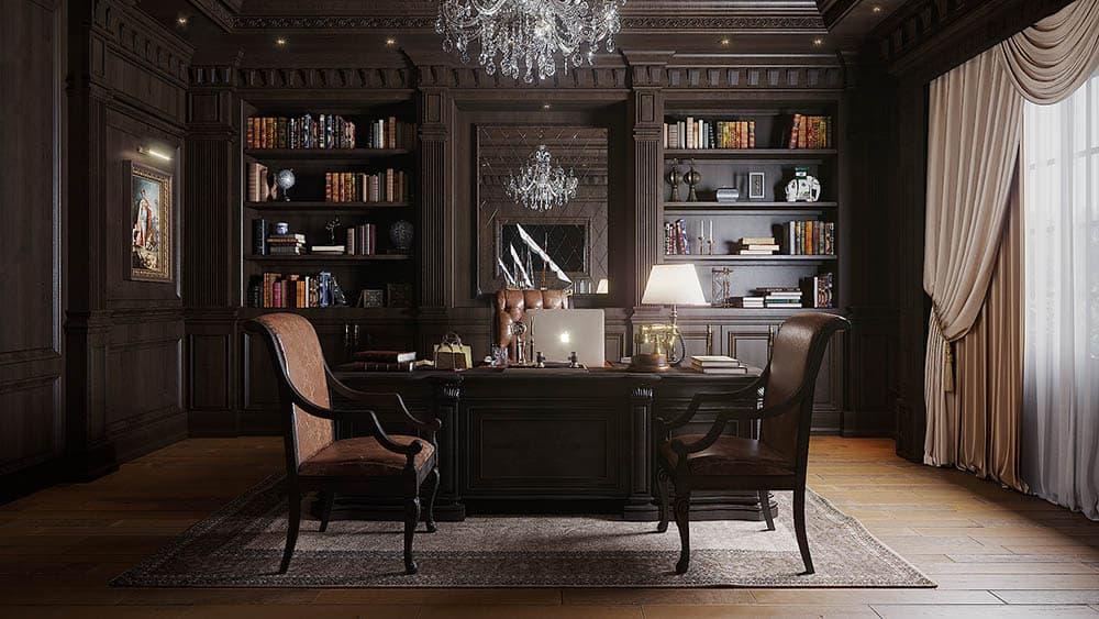 Thiết kế ấn tượng với văn phòng làm từ gỗ tự nhiên
