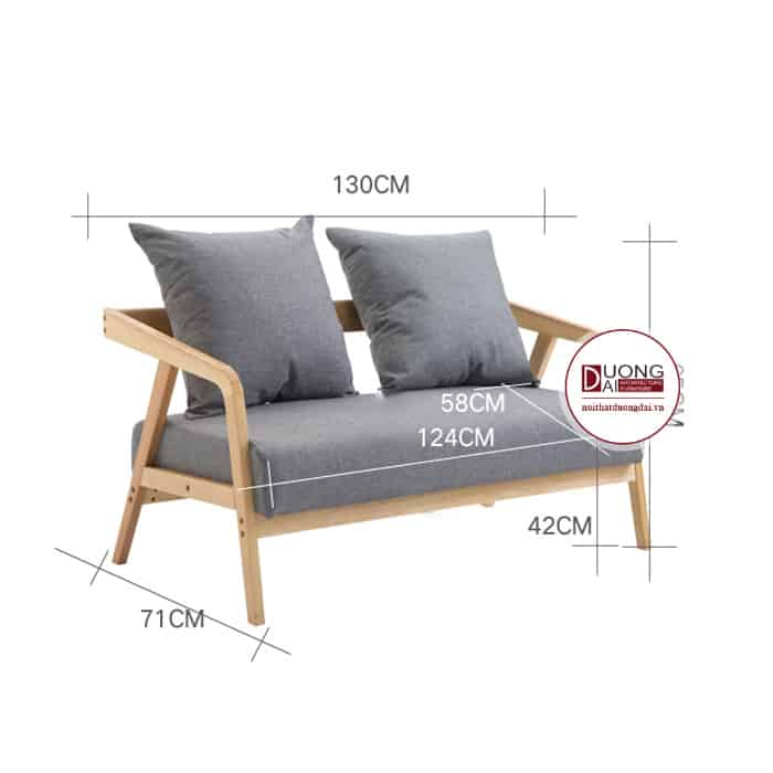 Sofa gỗ cafe - ATFCF201