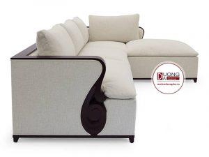 Sofa góc tân cổ điển cao cấp - ATFCG104