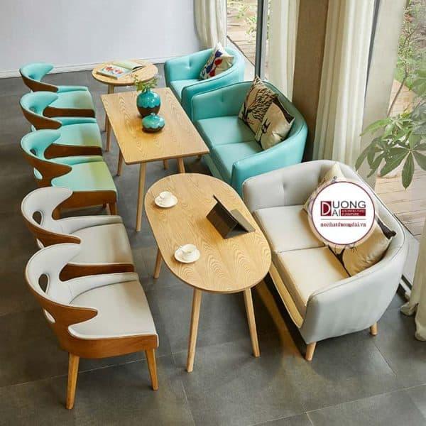 Bàn ghế sofa cafe đẹp - ATFCF206