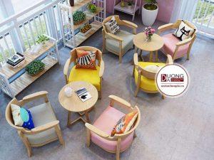 Bộ sofa cho cửa hàng cafe - ATFCF209
