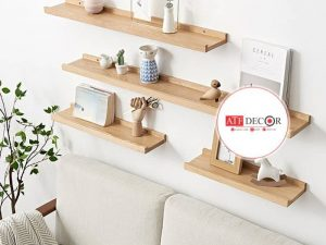 Giá gỗ gắn tường - ATFDC204