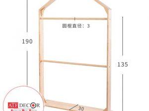 Giá treo quần áo - ATFDC228