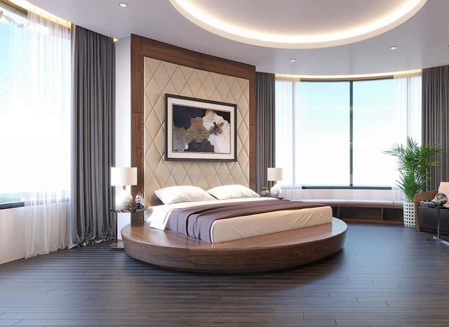 Mẫu giường sang trọng cho biệt thự cao cấp với tầm nhìn đẹp