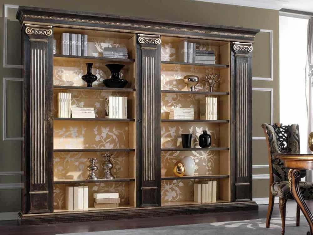 Thiết kế tủ gỗ màu đen đầy sang trọng và cá tính