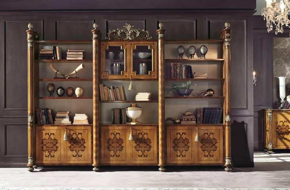 Thiết kế kệ trang trọng và đẳng cấp phong cách tân cổ điển