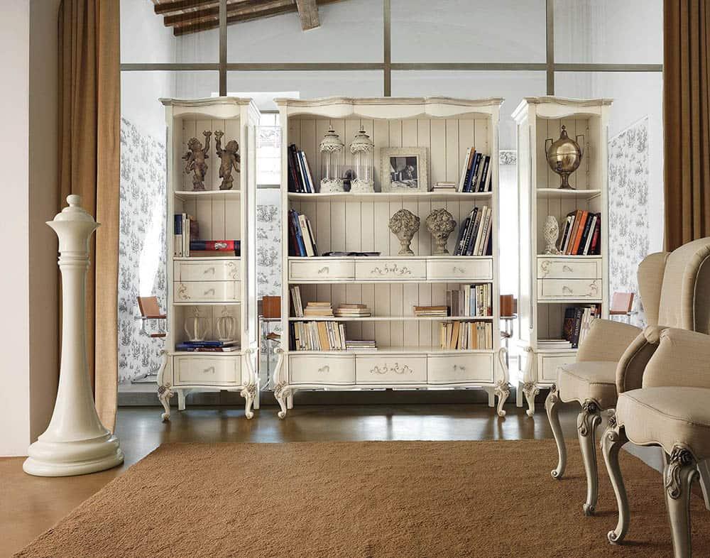 Thiết kế kệ tủ sang trọng và uy nghi cho phòng khách