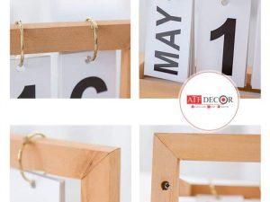 Lịch khung gỗ để bàn - ATFDC220