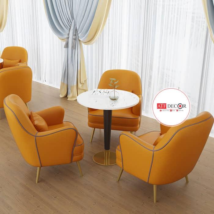 Mẫu ghế sofa cafe đẹp - ATFCF208