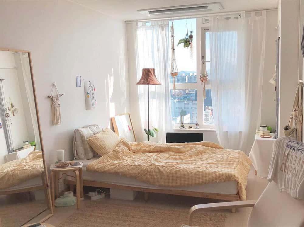 Mẫu phòng ngủ đầy ngọt ngào và lãng mạn