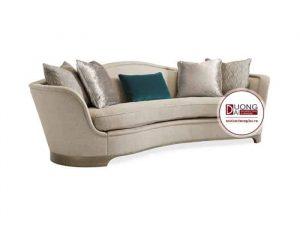 Sofa nỉ tân cổ điển cao cấp - ATFTCD301