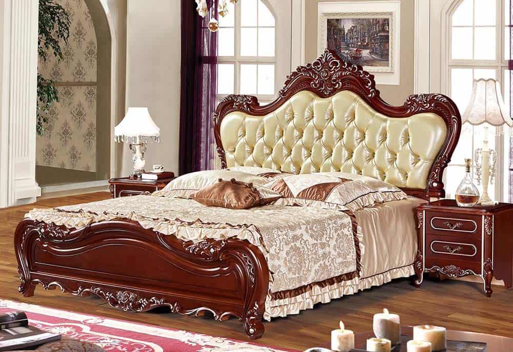 Tab Đầu Giường Gỗ Tự Nhiên Siêu Đẳng Cấp Cho Phòng Ngủ Master