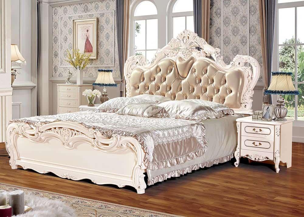 Thiết kế tủ màu trắng 2 ngăn đầy quyến rũ và trang nhã