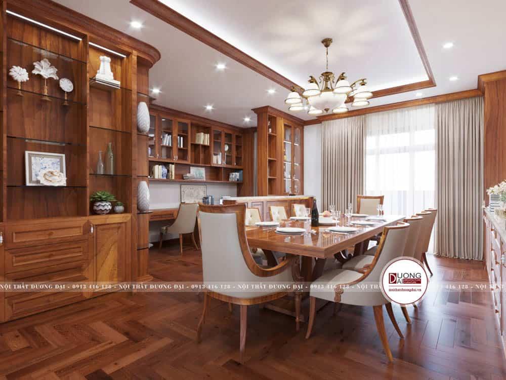 Nội thất cao cấp trong phòng siêu ấn tượng với nét đẹp tân cổ điển