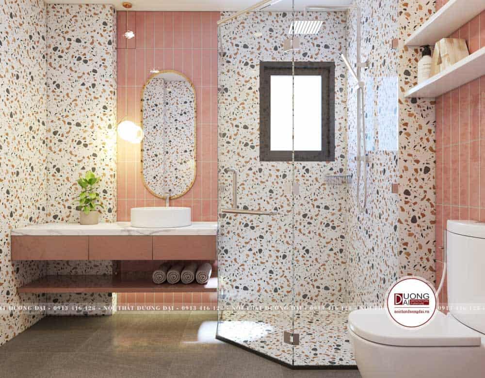Thiết kế phòng tắm sử dụng chất liệu siêu bền và chống ẩm