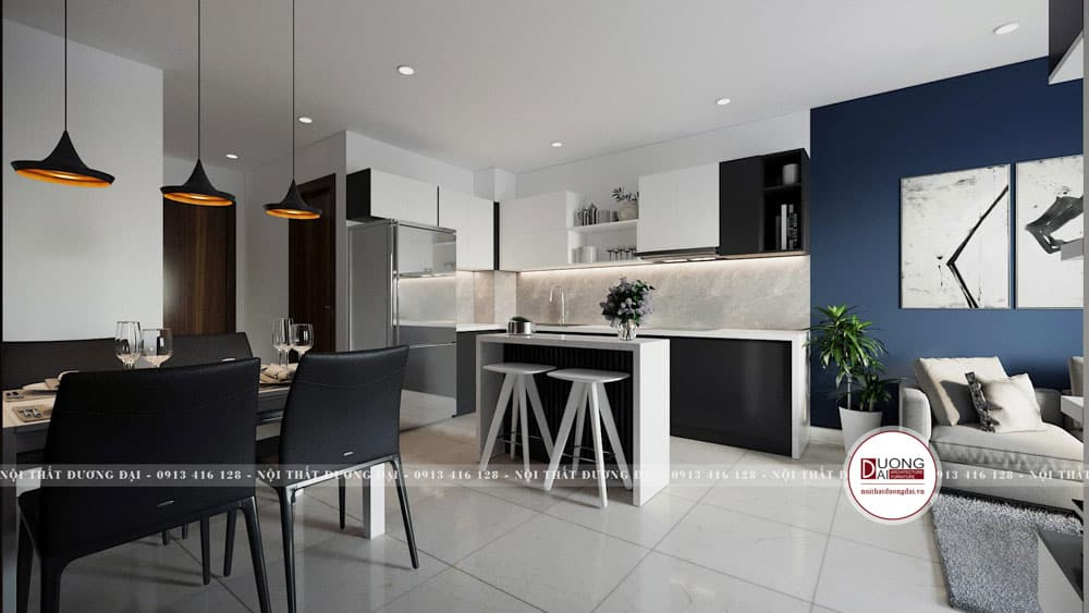 Nhà bếp mini đẹp | 25+ Mẫu phòng bếp nhỏ đơn giản tiện nghi