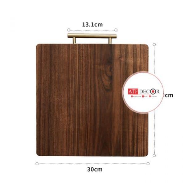 Thớt gỗ trang trí - ATFDC205