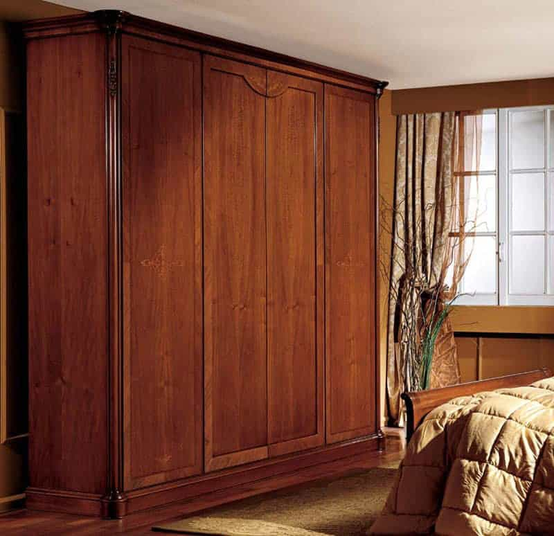 Thiết kế tủ đơn giản nhưng toát lên nét tinh tế và ấm áp