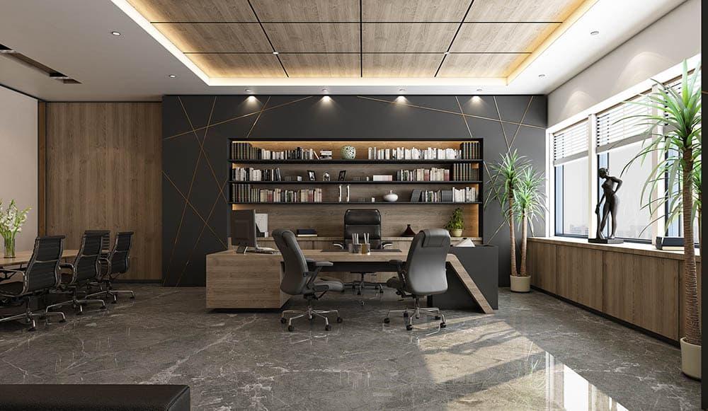 Thiết kế nội thất phòng giám đốc |15+ Mẫu đẳng cấp hợp phong thủy
