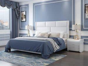Giường Ngủ 1m8x2m Giá Rẻ Thiết Kế Đẹp, Chất Liệu Bền Và Hiện Đại