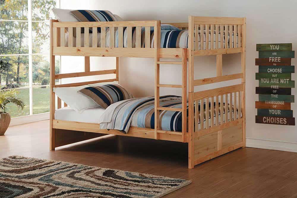 Mẫu giường gỗ hiện đại và sang trọng cho phòng ngủ nhỏ