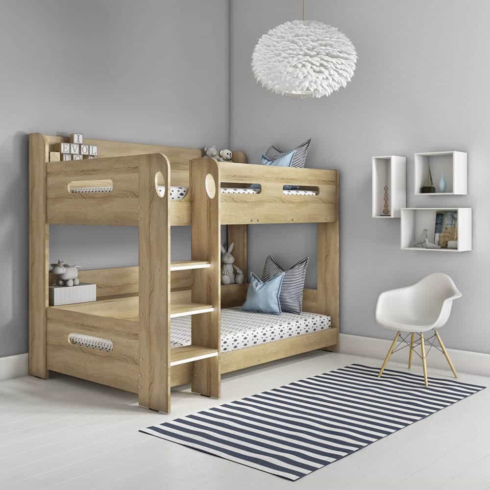 Thiết kế giường cho bé yêu đầy ngộ nghĩnh