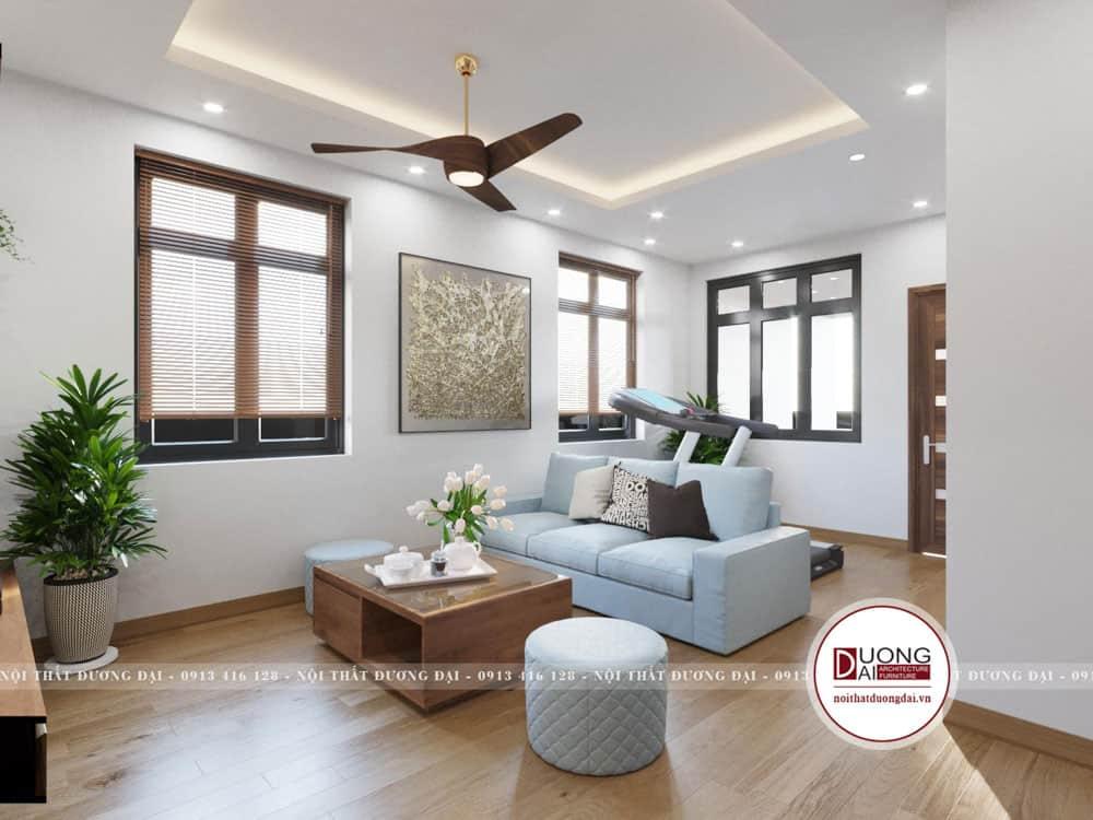 Thiết kế phòng sinh hoạt chung đầy thoải mái và tiện nghi