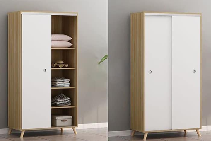 Thiết kế tủ đơn giản sẽ có mức giá thấp