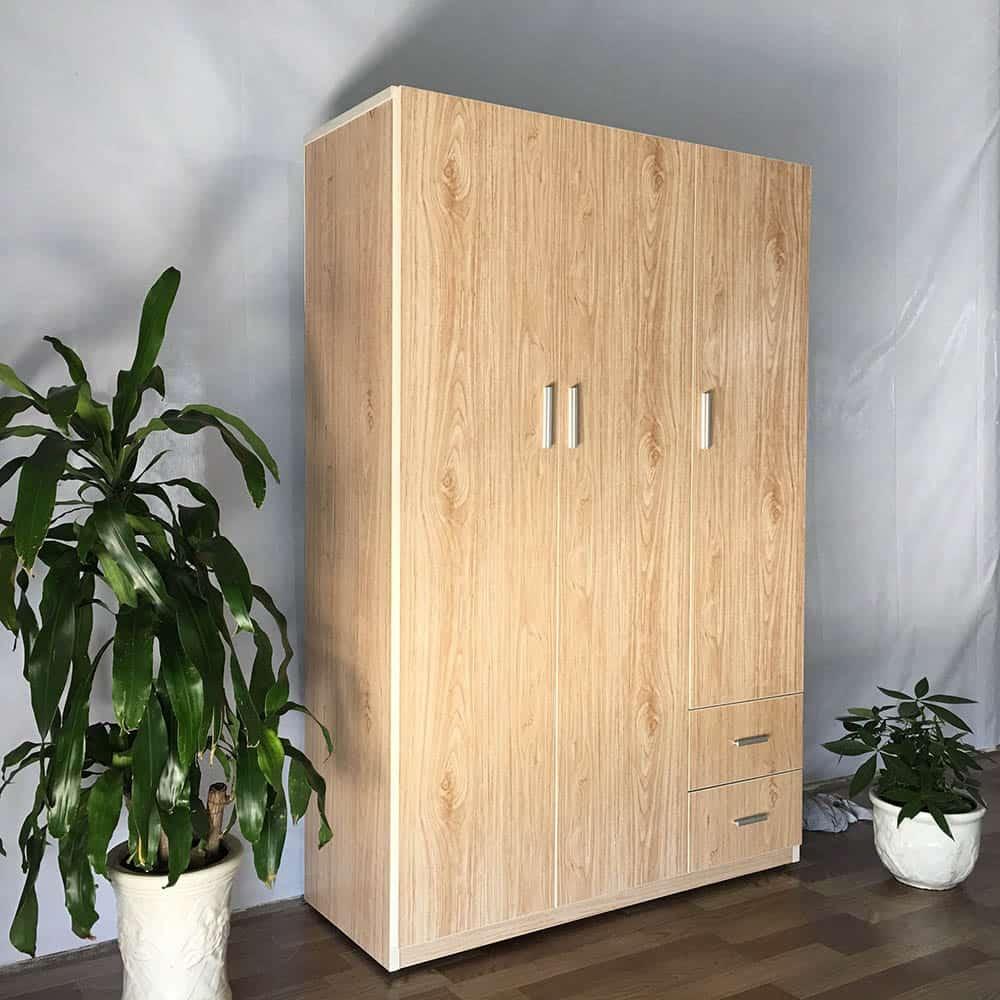 Thiết kế tủ nhựa vân gỗ bóng bẩy giá cả hợp lý