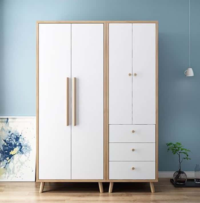 Tủ Quần Áo Dưới 2 Triệu Giá Rẻ Đầy Tiện Nghi Cho Phòng Ngủ