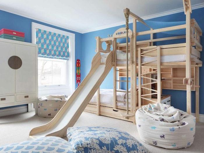 Phòng ngủ cho bé trai 10 tuổi với 11+ mẫu năng động sáng tạo