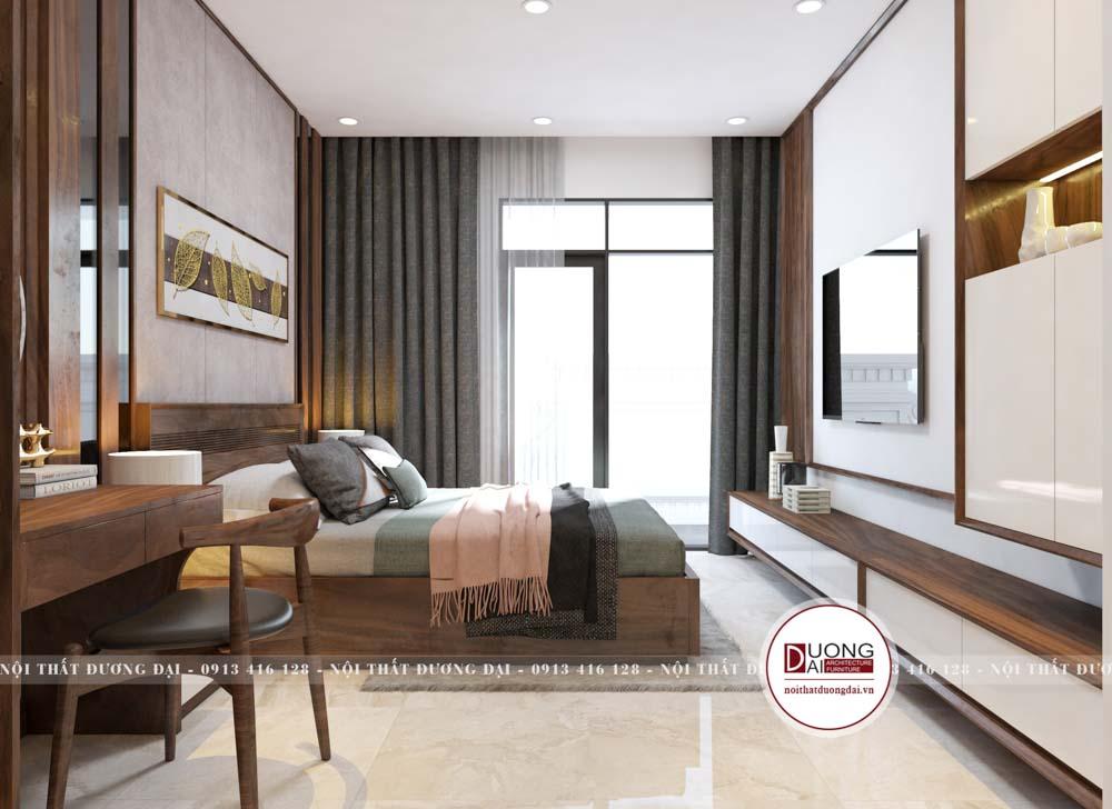 Phòng ngủ nên thiết kế đặt gần cửa sổ thông thoáng, yên tĩnh