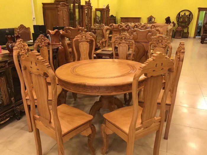 Thiết kế bàn ăn tròn đem lại sự viên mãn và sum vầy cho gia đình