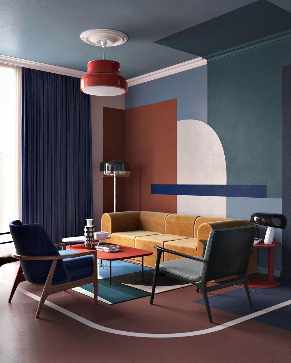 Phong cách Color Block là gì? BST 9+ thiết kế ấn tượng nhất