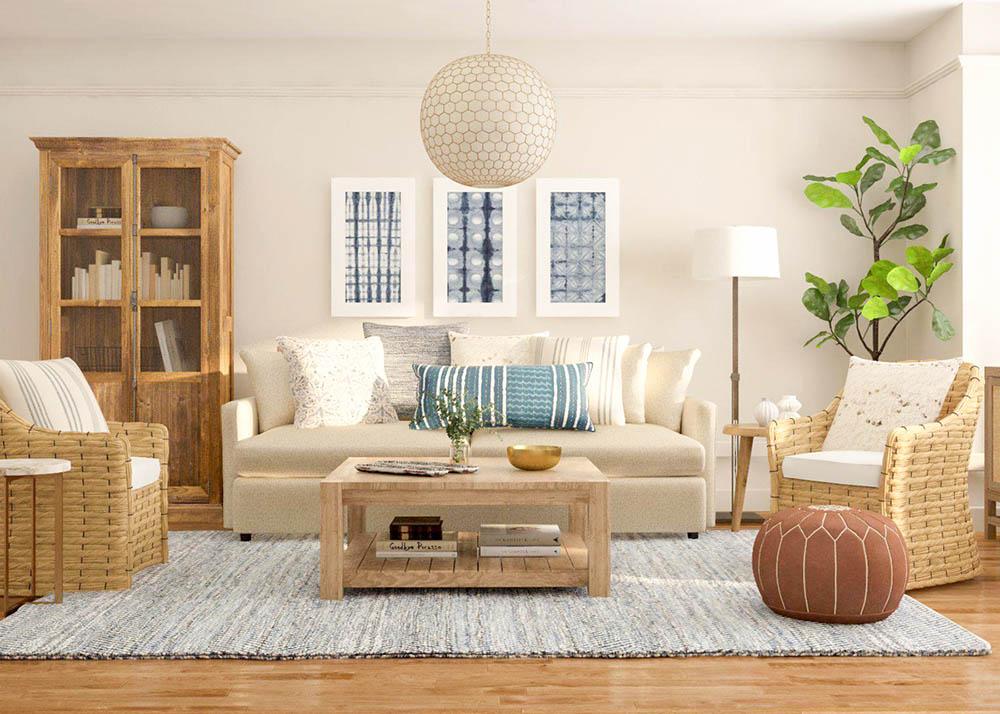 Thiết kế nội thất đơn giản và tiện nghi cho cuộc sống
