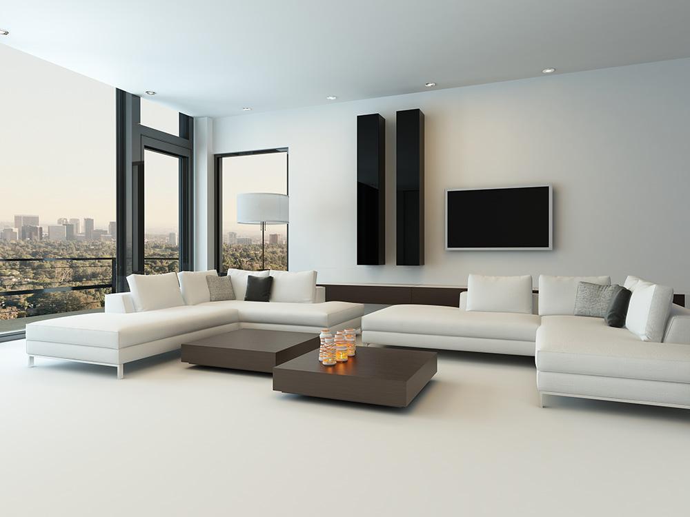 Sofa phòng khách hiện đại và đầy thư giãn