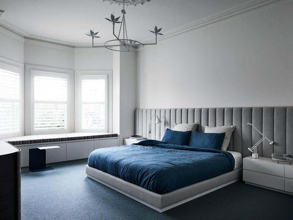 Phòng ngủ thông thoáng và ngăn nắp, tạo sự thư giãn để nghỉ ngơi