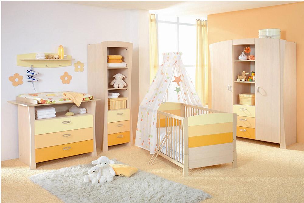 Phòng ngủ cho bé yêu với gam màu đầy dễ thương