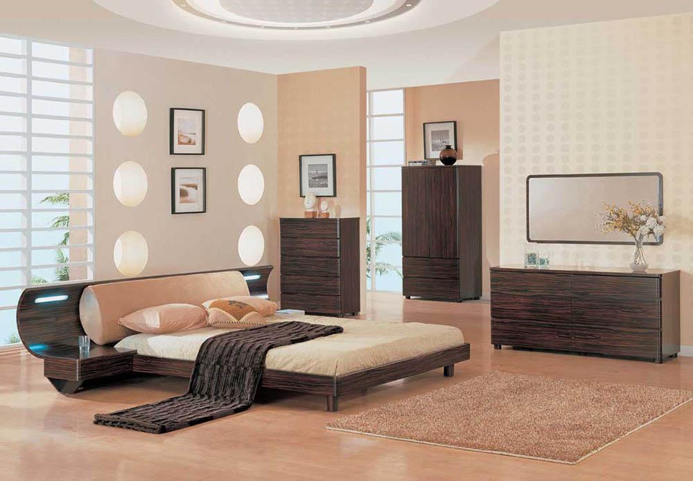 Gam màu dịu nhẹ và tự nhiên giúp cho không gian phòng ngủ thêm đẹp