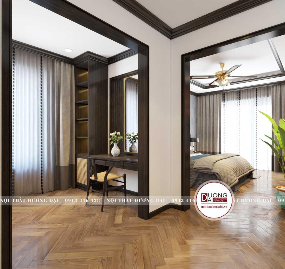 Thiết kế nội thất biệt thự Vinhome Ocean Park Ngọc Trai 168m2/sàn